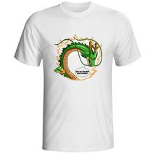 Say Your Wish Dragon God T-shirt Shenlong Pop Punk Print Shenron T Shirt Ball Creative Hip Hop Novelty Women Men Top