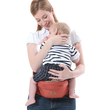 0-48Months Baby Solid Color Cotton Carriers Kids Waist Stool Sling Hold Belt Backpack Newborn Infant Holdings Walker