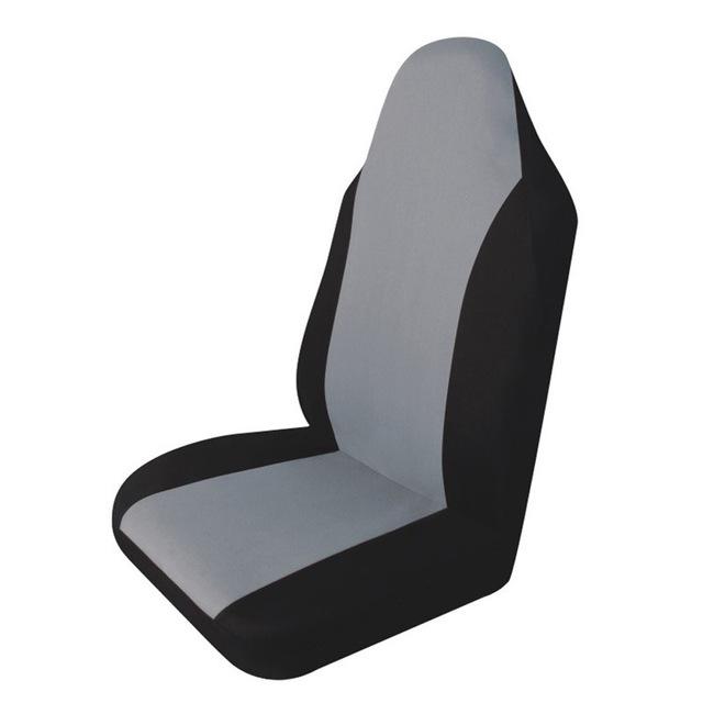 Quatro estações tampa do assento de carro Universal de decoração do carro de fácil instalação 3 cores preto / cinza / bege