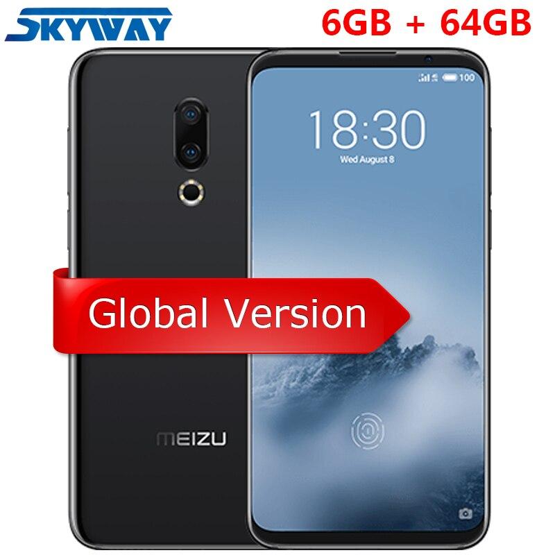 US $333 91 |Original Meizu 16th 16 Snapdragon 845 Octa Core Adreno 630 4G  LTE 6GB 64GB 6 0
