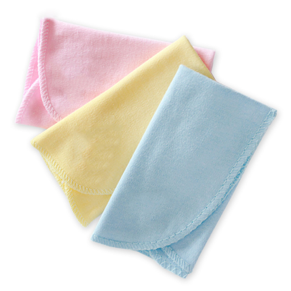 5pack/lot 3pcs/pack Cotton solid newborn Baby Bath Towels Face Hand Towel Wash Cloth Handkerchiefs Baby Care Towel