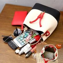 Nevenka Women Fashion Daily Bag Female Casual Handsome Pocket Shoulder Bag for Teenage girl School Bags Lady Drawstring Bucket