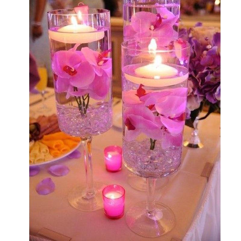 Mesas de cristal para bodas centros mesa bodas velas cristales ideas centros de mesa altos - Precios de centros de mesa para boda ...
