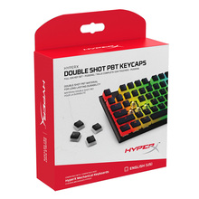 HyperX Pudding Keycap Double Shot PBT Keycaps feature a tran