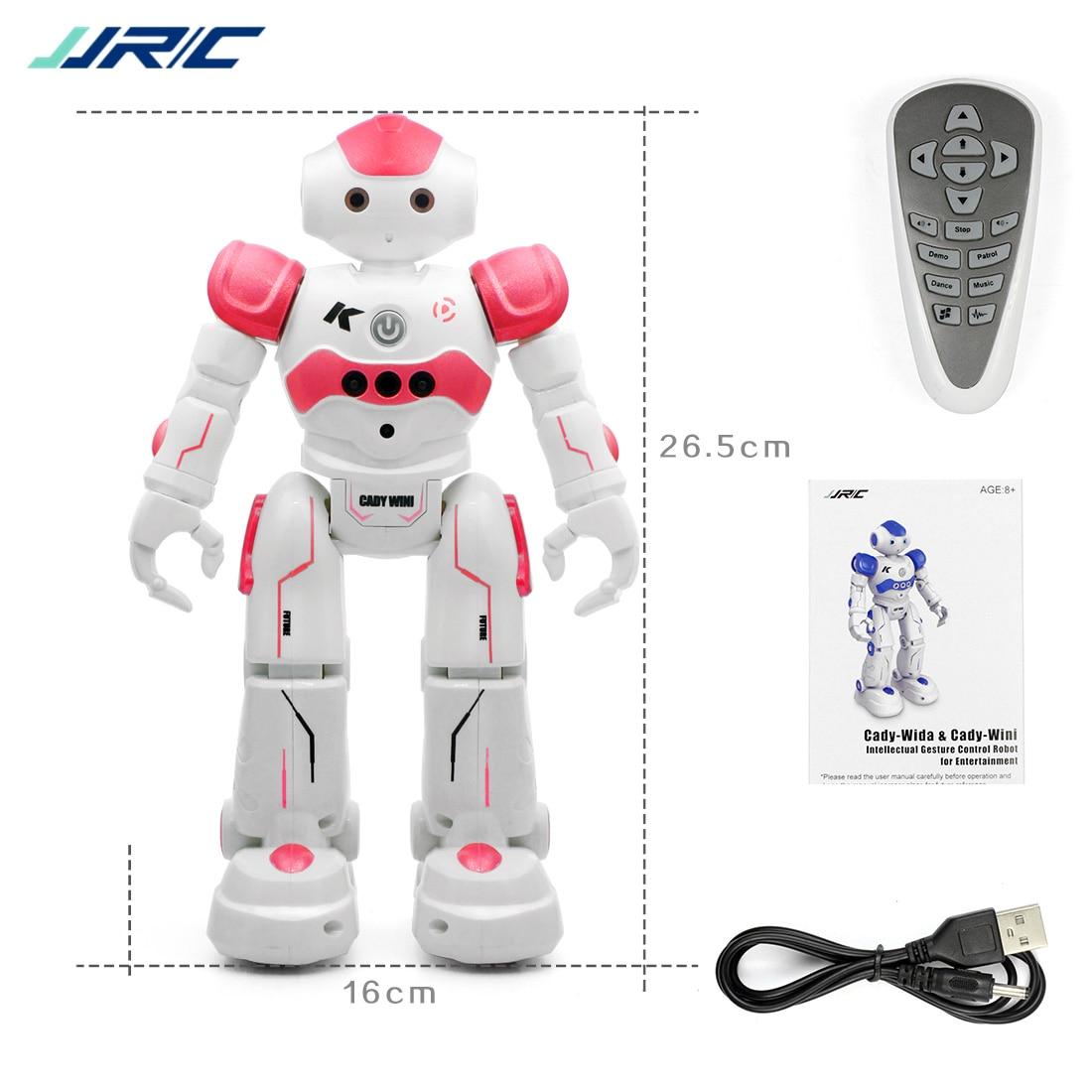 JJRC R2 RC Robot Gesture Sensor Dancing Intelligent Program CADY WIDA Toy Accessory F22252/53 intelligent sensor aircraft toy