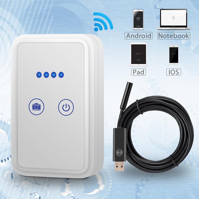 USB Endoscope Camera with Wi-Fi Box