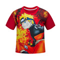 Boys Naruto T-Shirt Kids Casual Clothes Cartoon Children T Shirts Designs Teen Clothing For Boys Baby Clothing Girls T-Shirts