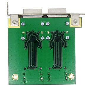 Image 4 - Mini SAS Cho Nội Bộ SFF 8087 Sas 36P Đến 2 Cổng Ngoài HD Sas26P SFF 8088 Mặt Trước PCI SAS Thẻ bộ Chuyển Đổi
