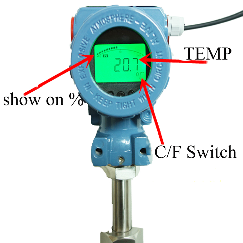 Digital temperature transmitter