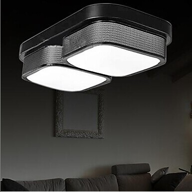 ٩(^‿^)۶2 Lichten LED Moderne Plafondlamp Voor Woonkamer Lamp ...