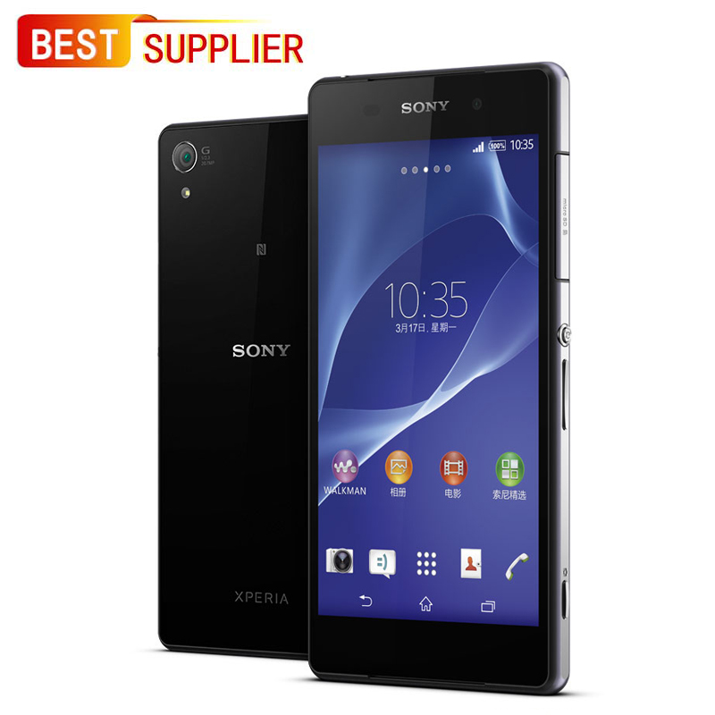 Sony Xperia Z2 D6503 Smartphone, 3GB RAM 16GB ROM, 5.2 inches, Quad Core, 20.0MP, 1 Year Warranty(China)