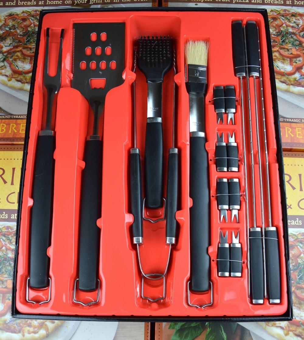 17 pieces barbecue set