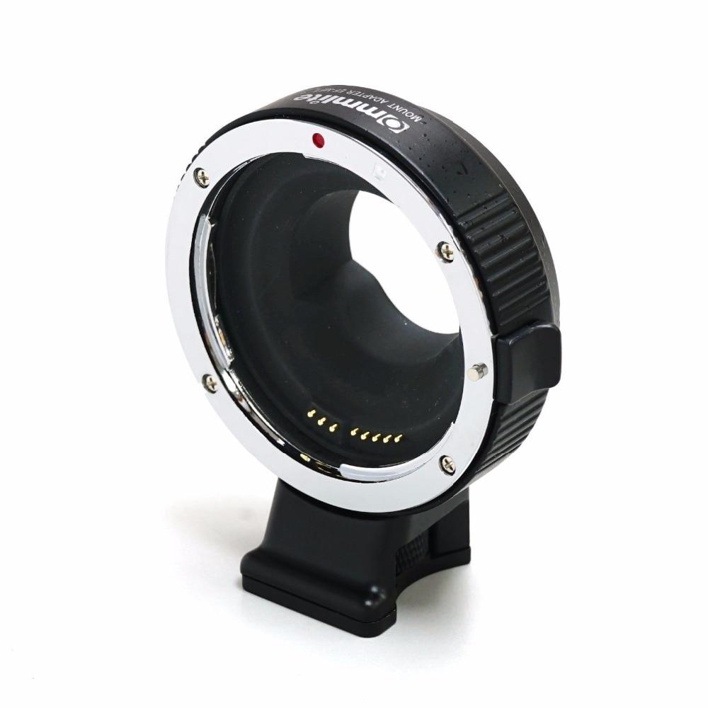 Adaptateur d'objectif COMMLITE CM-EF-MFT pour Canon EOS EF/EF-S à Micro quatre tiers (MFT)