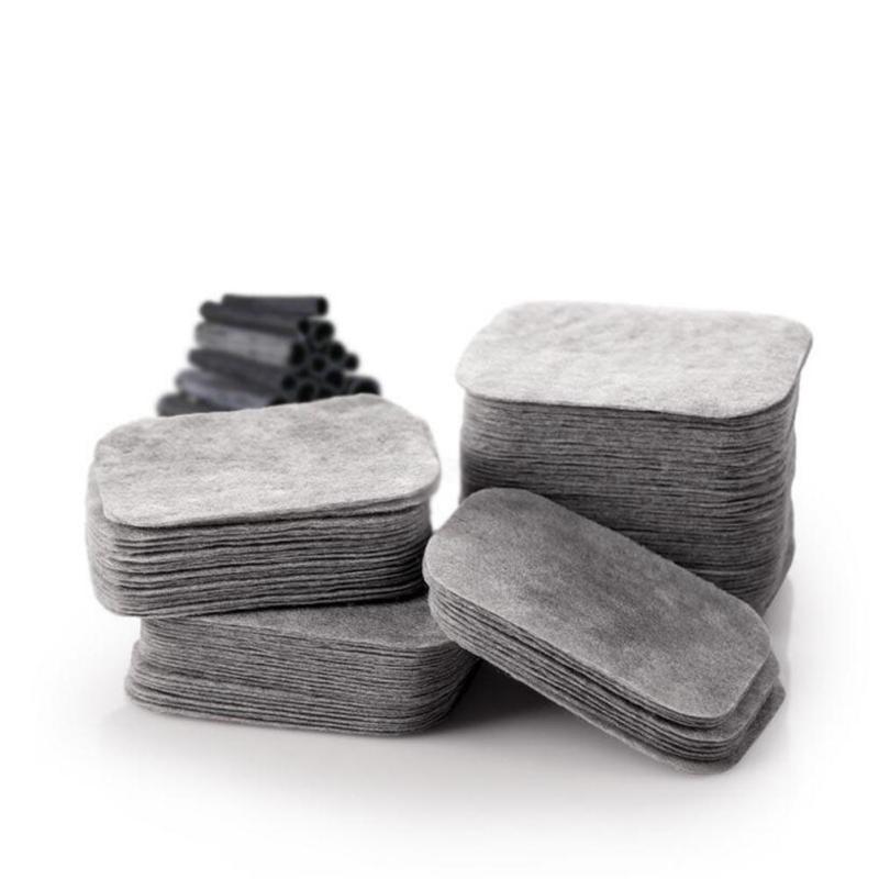 200 pcs/boîte Tampons de Coton De Carbone De Bambou Coton Tampons de Coton de Maquillage Maquillage Outil de Retrait B4