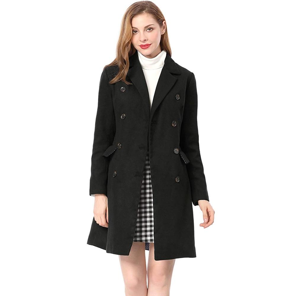 ZOGAA 2019, новинка, 4 цвета, хит продаж, Женское шерстяное пальто, зимняя куртка, тонкое, шерстяное, длинное, кашемировое пальто, кардиган, куртки, элегантная смесь