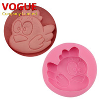 DIY Little Chicken Baby 3D silicone Chocolate mold Cake Fondant mould Cake Decorating Baking Tools  N1888