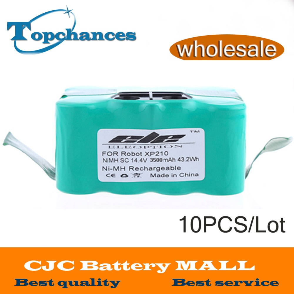 10PCS <font><b>14.4V</b></font> 3500mAh <font><b>Battery</b></font> for SAMBA XR210 XR201C R Vacuum Cleaner NS3000D03X3 YX-Ni-MH-022144 For SAMBA CleanTouch Klarstein image