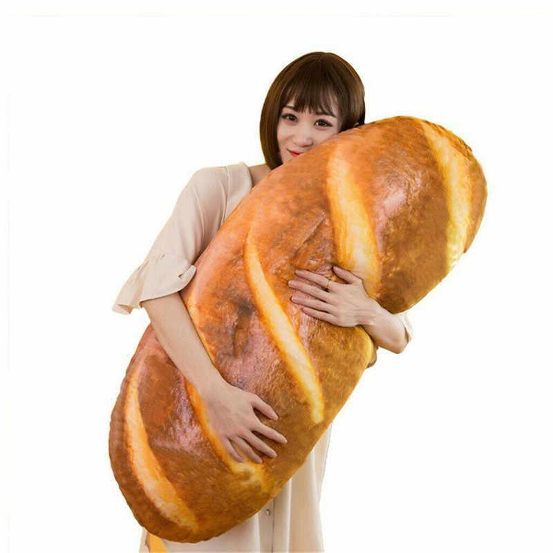 Ekmek Peluş Atmak Yastık vücut yastığı Çıkarılabilir ve Yıkanabilir Dekoratif Yastık Çocuk Odası için Kız Arkadaşı Mevcut doldurulmuş oyuncak XNC