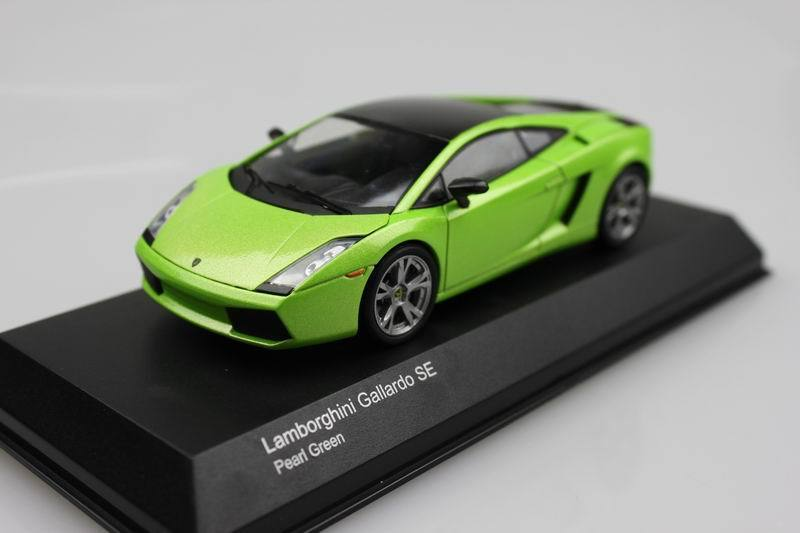 Kyosho 1:43 Gallardo SE Sports activities automobile inexperienced alloy mannequin automobile toy present assortment free delivery