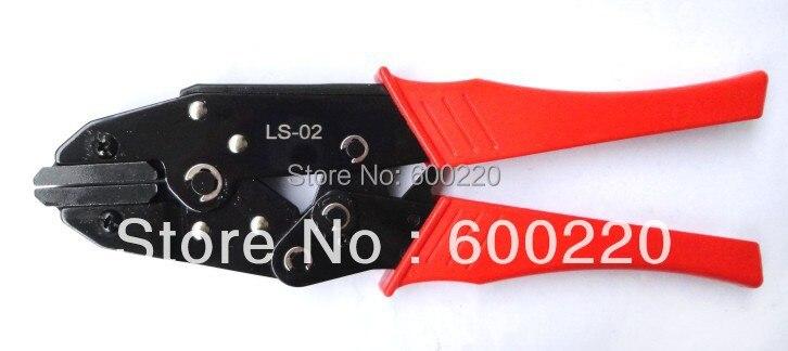 LS-02 высокое качество ручной обжимной инструмент для неизолированных нагревательных пленочных разъемов с плоскими губками обжимной инструмент