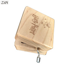 Фотография Harry Potter Hand Engraved Wooden Music Box theme song gift for Chirstmas happy birthday gift new year children gift