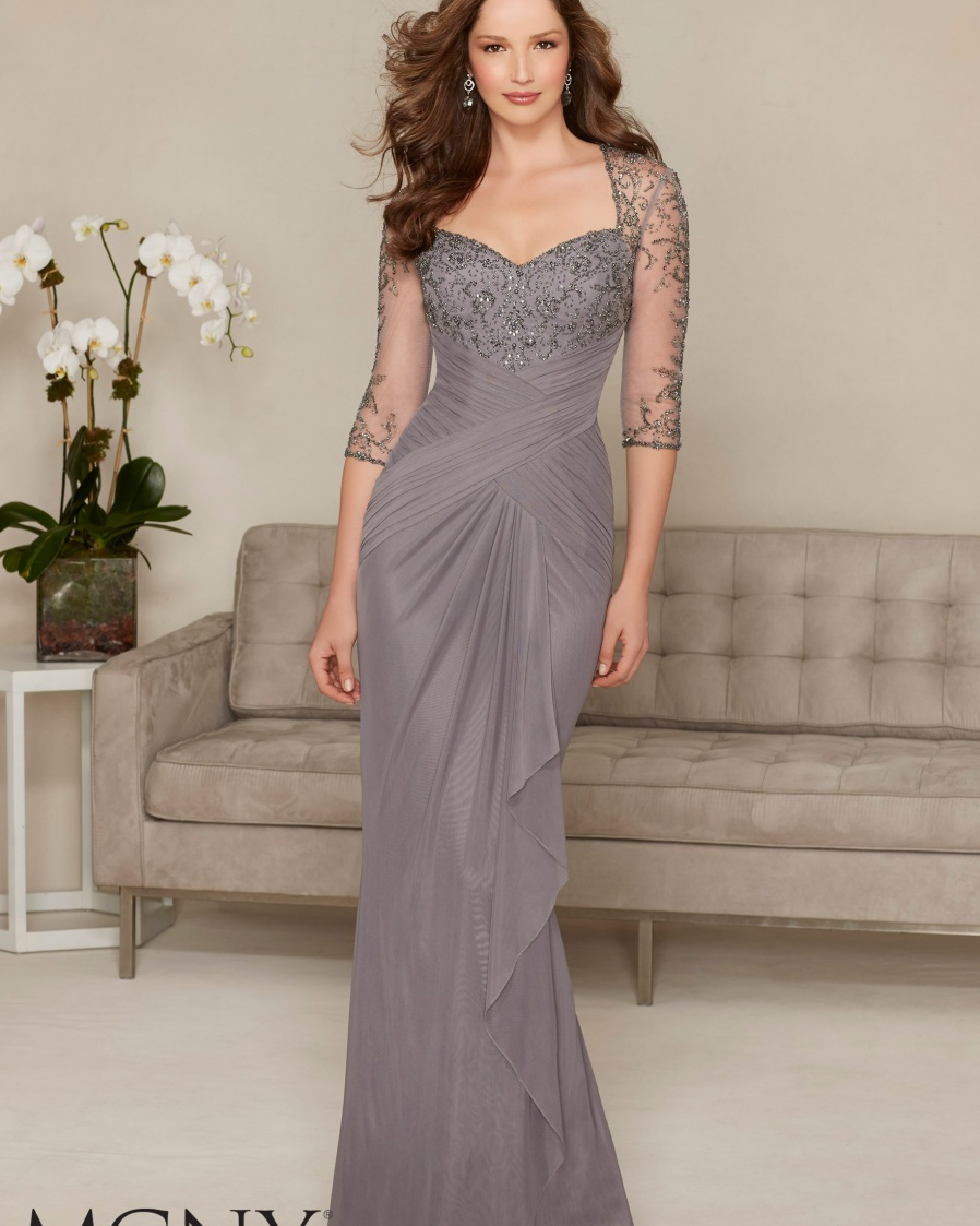 sexy mother of the bride dresses images crystal chiffon