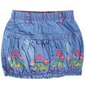 Girls above-knee A-line mini Skirts embroidery flower pattern summer style skirt  for kids girls #67087
