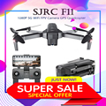 SJRC F11 GPS 5G WiFi FPV Con 1080 P Camera Brushless Quadcopter 25 minuti Tempo di Volo Gesto Pieghevole Braccio selfie RC Dron VS CG033