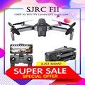 SJRC F11 GPS 5G WiFi FPV Met 1080 P Camera Borstelloze Quadcopter 25 minuten Vliegtijd Gebaar Opvouwbare Arm selfie RC Dron VS CG033