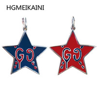 Tiff925 silver chain in Europe and the original fashion pentagram necklace restoring ancient ways ms charm jewelry gifts