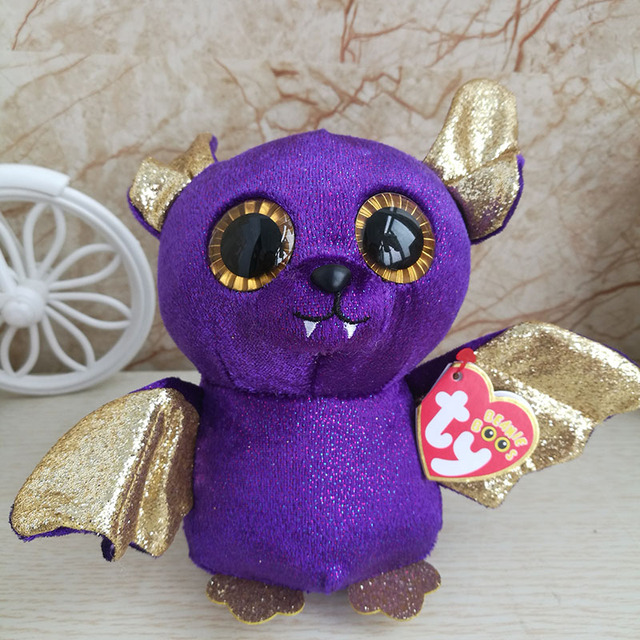 2018 New Design Bat Plush Toy Ty Beanie Boos Collection Count Stuffed  Animal Doll Kids Toy Birthday Gift Home Decor Halloween e2d5802dc1a