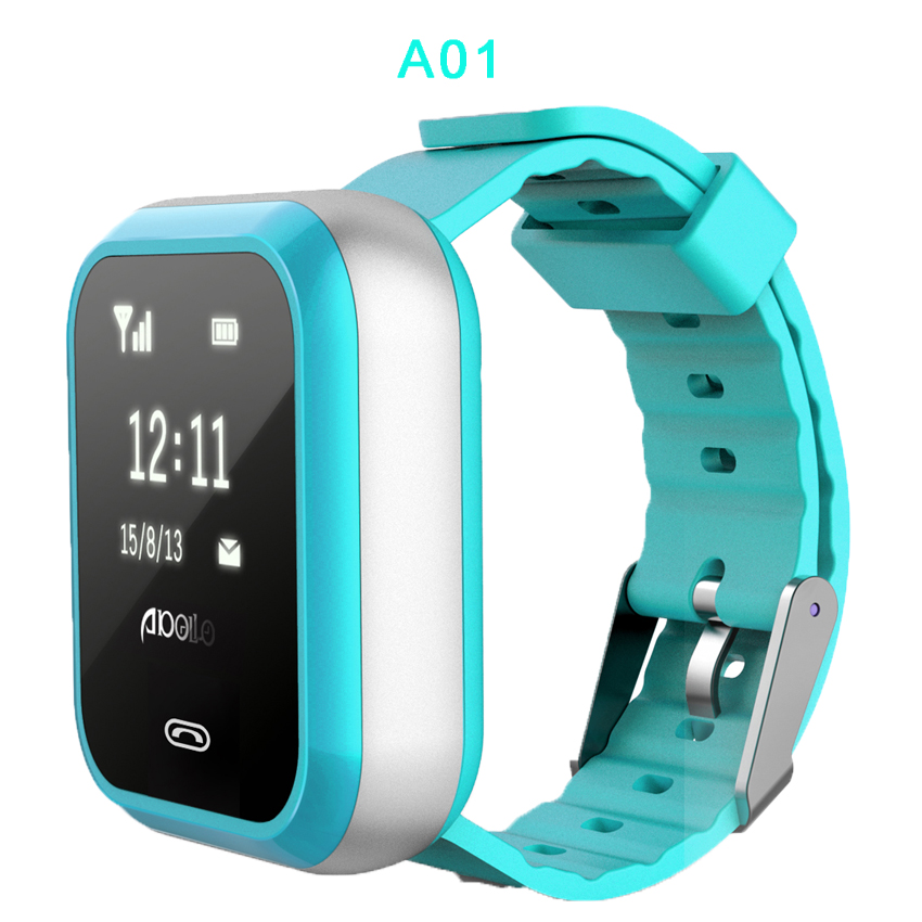 2017 GPS Tracking Watch-M01-GPS, WIFI, LBS location,SOS function, Geo-Fence, Two