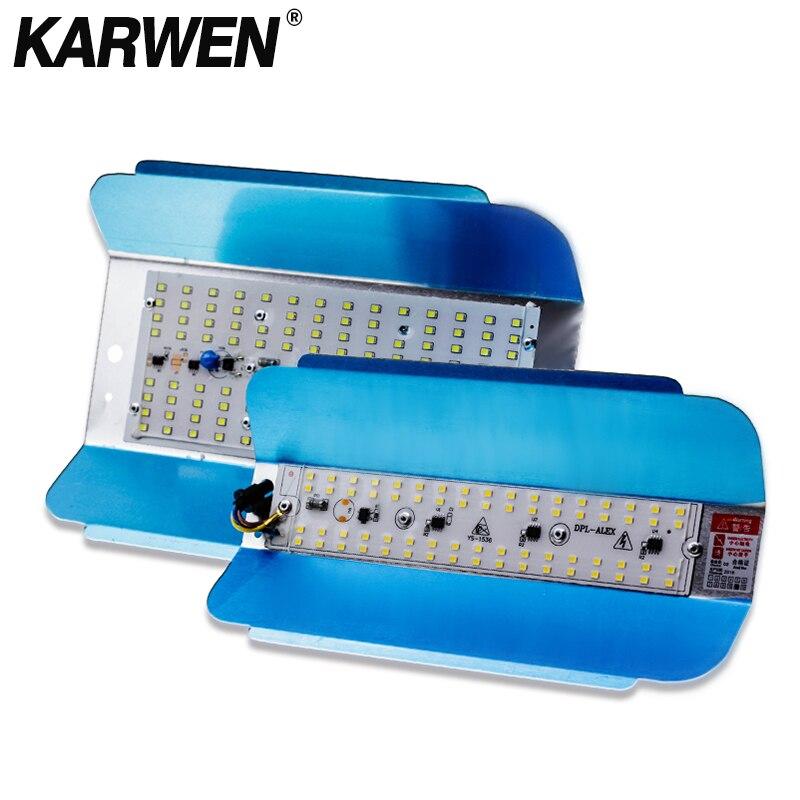 KARWEN LED lodina de tungsteno 50W 100W, luz LED de inundación 220V, reflector LED de foco, iluminación LED al aire libre, lámpara Gargen Reflectores    - AliExpress