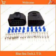 Образец, 2 компл. 10 Pin фар разъем для серии VW, Авто водонепроницаемый разъем для VW, Audi, Magotan, POLO, Bora, Lavida т. д.