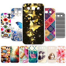 3D DIY Soft Silicone Case For Samsung Galaxy Win I8552 Case Coque For Samsung GT i8550 i8558 8552 Cover Painted Case Bag Fundas цена 2017