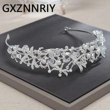 Dragonfly Crystal Silver Crown Headband Wedding Bridal Hair Accessories Rhinestone Bride Tiaras and Crowns Women Party Jewelry все цены