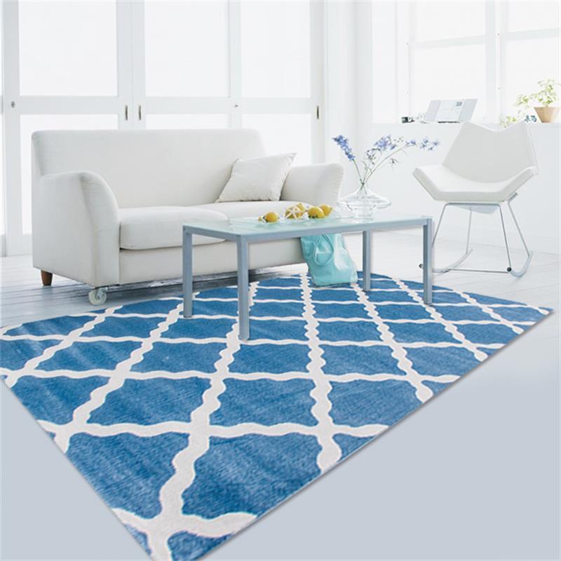 Tapis et tapis post-modernes pour la maison salon salle d'étude tapis de sol en polypropylène tapis de chambre tapis de Table basse