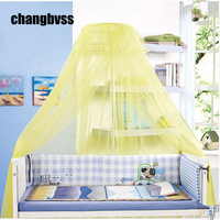 Baby Crib Infant Bed Mosquito Net,Big Size Palace Baby Mosquito Net,Get Bracket, Easy Clean,Dust Anti mosquito,Crib Mosquito Net