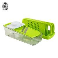 FGHGF The Multifunctional Shredder Vegetable Peeler Fruit Potato Slicer Cutter Dicer Container Easy To Cook Kitchen Gadgets