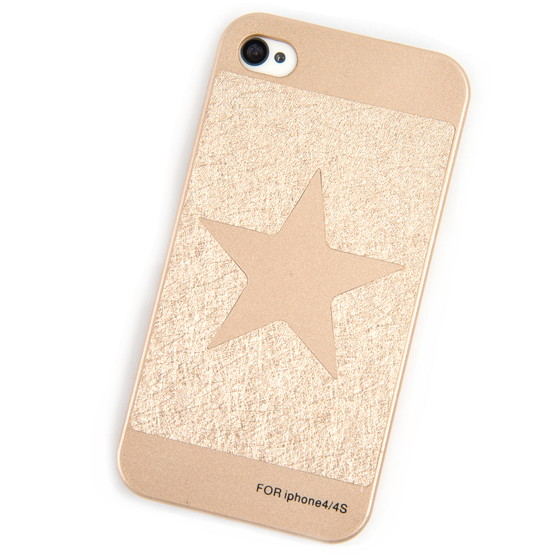 Phone Cases for iPhone 4S Case for iPhone 4 Cover Luxury Gold Cube mobile phone bags & cases Brand New Arrive Accessories