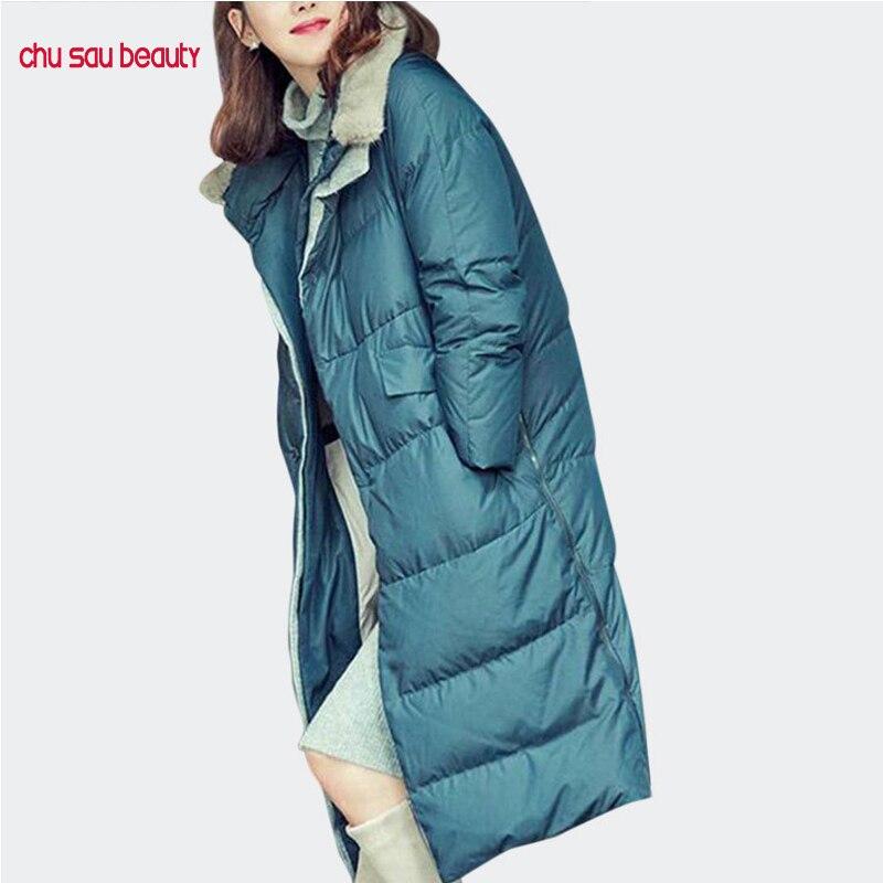 Womens Ladies Winter Warm Outwear Long Thicken Hooded Coat Parka Jacket Overcoat