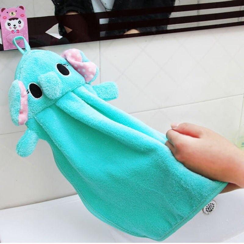 Cute Animal Microfiber Kids Children Cartoon Absorbent Hand Dry Towel Lovely handkerchief