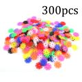 Hot! OCDAY 300PCS Snowflake Children Kids Multicolor Building Blocks Hands DIY Assembling Educational Learning Toys New