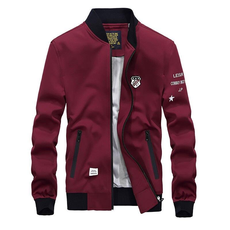 2017 Herren Frühjahr Jacke Bekleidung Marke Hochwertigen Mens Outwear Baseball Jacke Fashion European Style Casual Jaqueta Masculina Clear-Cut-Textur