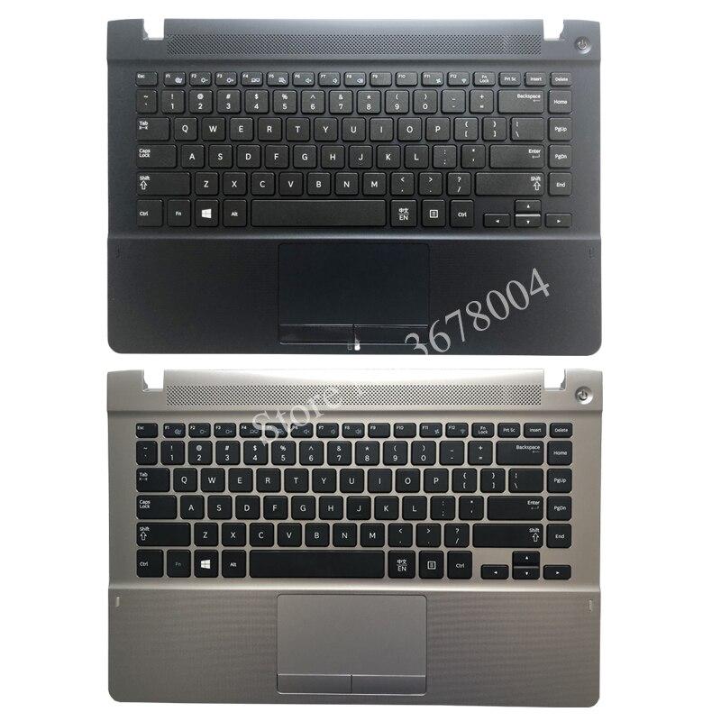 Clavier anglais pour Samsung NP470R4V NP370R4E NP370R4V NP450R4E NP450R4V NP470R4E noir US housse de repos pour ordinateur portable