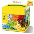 58231 bloque de construcción de ladrillos diy creativo básica 625 unids el juguete educativo para niños brinquedos jugutets compatible con lepin