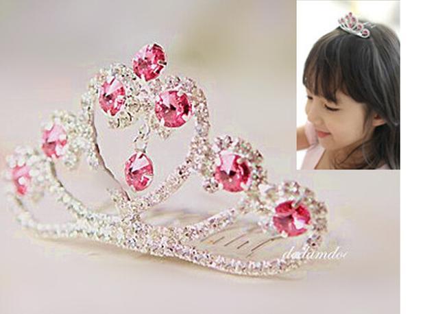 HTB1bUfDJVXXXXXWXVXXq6xXFXXXE Dazzling Rhinestone Crystal Girl Princess Headband Tiara - 15 Styles