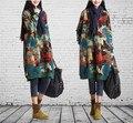 Korean Maternity fluid dress Clothes For Pregnant Women Dress Roupa Gestante Autumn Winter Plus Size Gravida Skirt