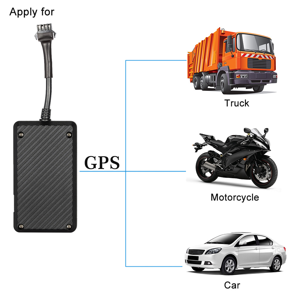 Gps Tracker  Power Cable  English User Manual