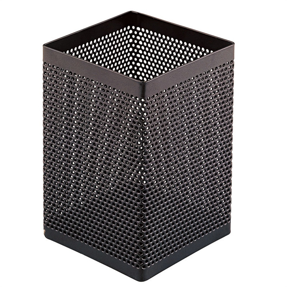 Pen Holders Metal Pen and Pencil Holder Squared Shaped ...